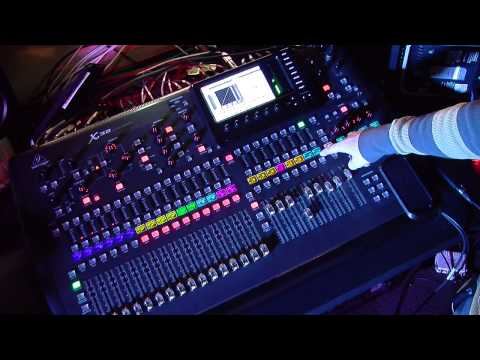 Behringer X32 - Explanation of DCA vs Groups - NRCC