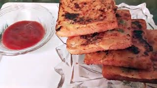 Instant Rava Toast 🍞 recipe| Crispy Veg Suji Bread toast | Tiffin snack | Rava bread 🍞 toast