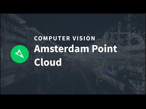 Amsterdam point cloud from 2.2B points