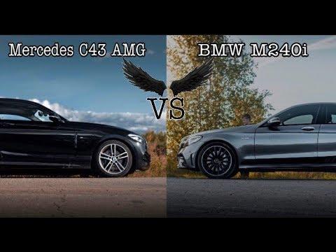 Mercedes-Benz C43 AMG Vs BMW M240i + BMW X3 St.2 - Versus