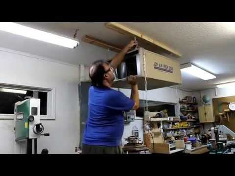 Hanging An Air Cleaner Without Assistance Youtube