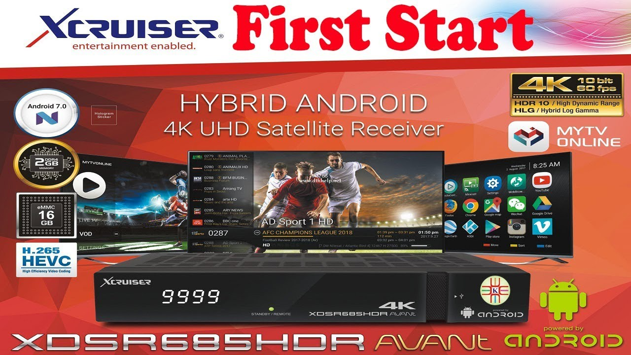 Xcruiser XDSR685HDR Operational Detail and Menu Settings Complete Tutorial  Guide Video in Urdu/Hindi