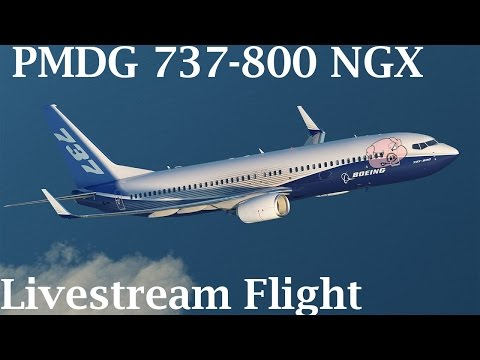 FSX - PMDG 737-800 w/ FS2crew Tucson to Phoenix (Full Flight)