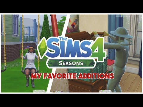 ❄️ ? ☀️ ?THE SIMS 4 SEASONS // GAMEPLAY & MY FAVORITE ADDITIONS ❄️ ? ☀️ ? thumbnail