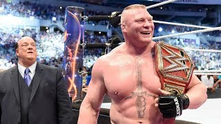 БРОК ЛЕСНАР против WWE — самый долгий чемпион (1/434)