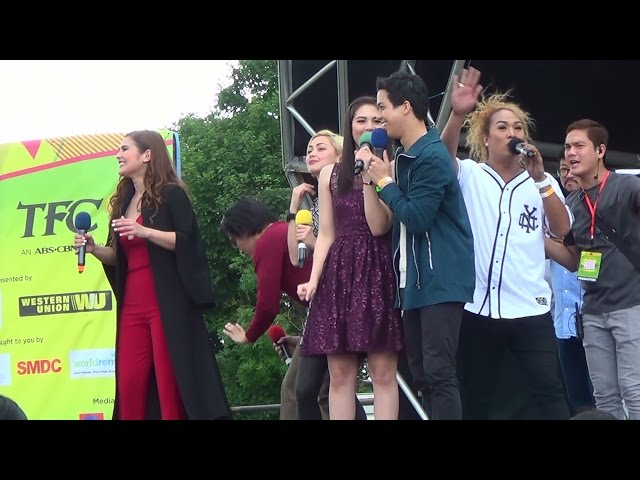 The Celebrity Guests at Day One of the Barrio Fiesta Sa London 2016 (Original Footage)