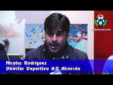 Presentación de Dudu Biton y Guillermo Méndez con la A.D. Alcorcón