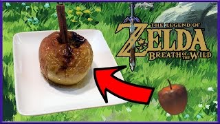 Cuccos Kitchen  How To Make Baked Apples  Legend of Zelda: Breath Of The Wild