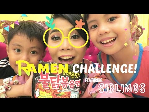 RAMEN Challenge - Wani Kayrie feat. SIBLINGS!