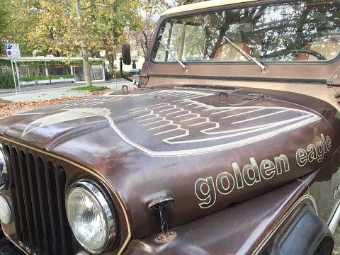 1979 Jeep CJ7 Golden Eagle... dal