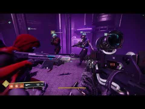 Destiny 2 - Eater of Worlds Lair Blind Run (Part 1)