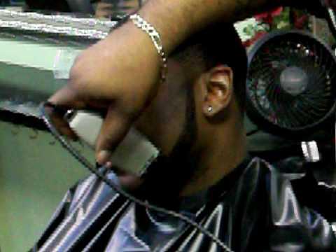 Bigen Black Out Temp Fade Haircut Dye Job Pt 2 Of 2 Youtube