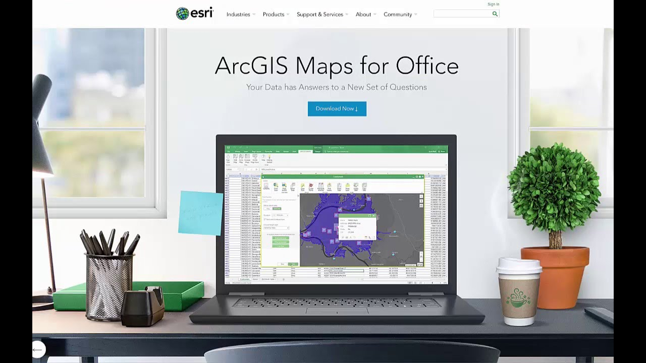 arcgis maps for office arcgis