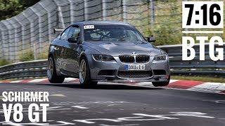SCHIRMER BMW E92 M3 | 7:16 BTG | Nürburgring Nordschleife | Alex Hardt