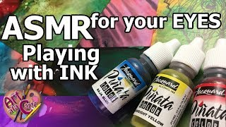 Colored Inks: Smart Art box March 2018 ASMR for your Eyes: