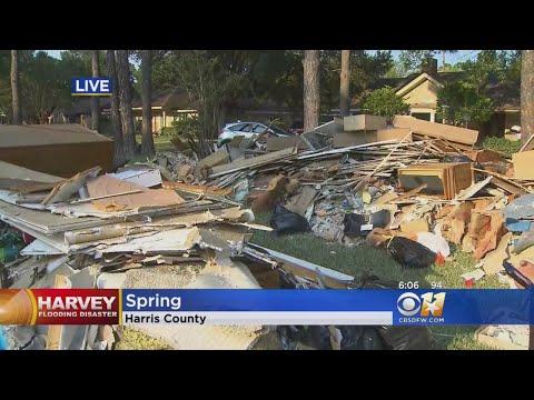 Cleanup Efforts Begin In Houston Area After Floods Recede