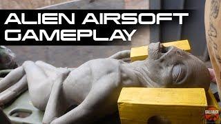 Alien Extract Airsoft Gameplay at Ballahack