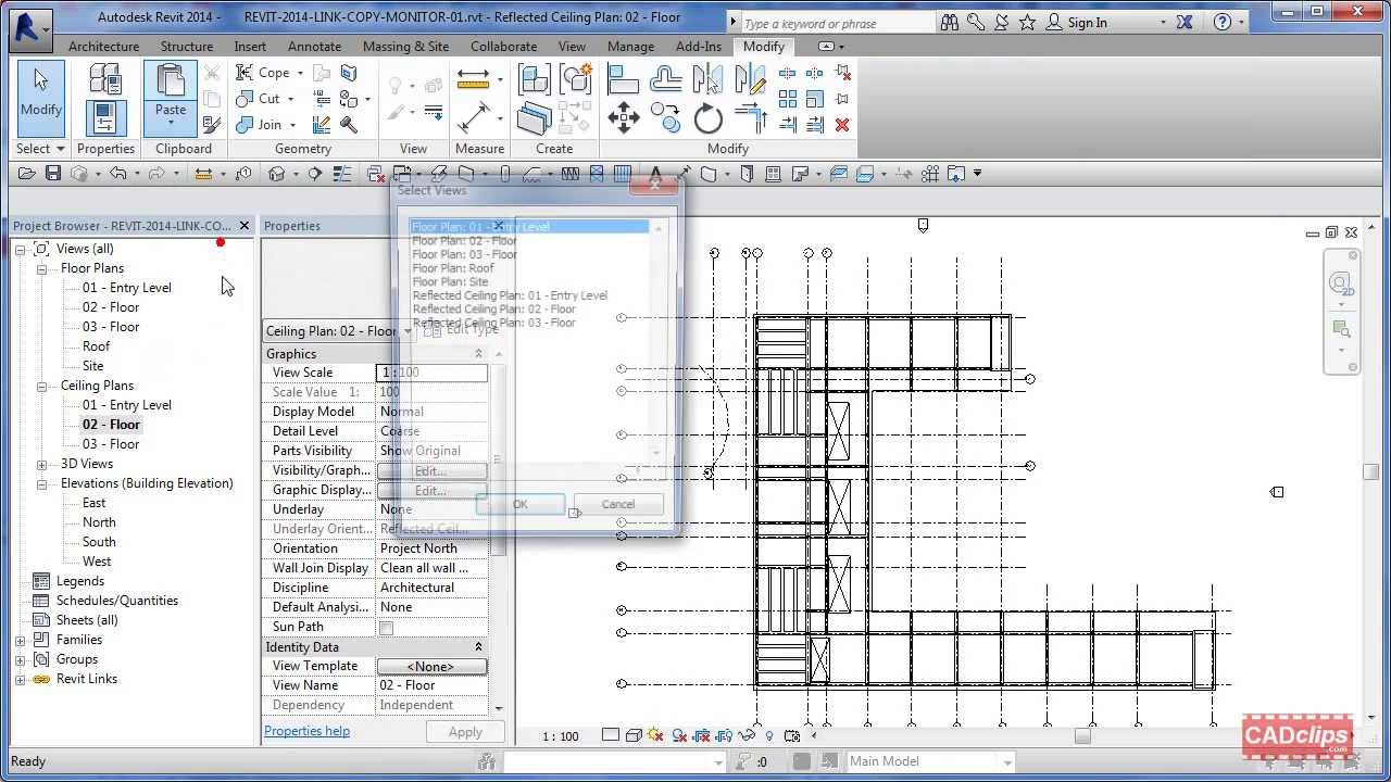 Revit 2014 create new ceiling plans selection filter copy for Copy architectural plans