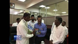 Quran translation gifted to Sri Lankan minister