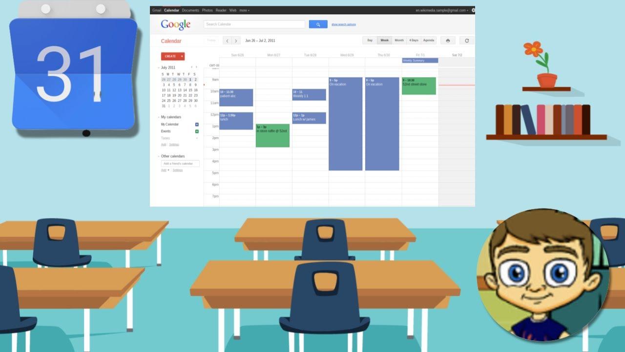 How To Setup A Google Calendar Not Loading Gmail Help Google Support Set Up A Class Calendar With Google Calendar 2014 Tutorial