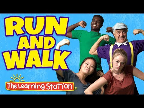 Exercise Songs For Kids ♫Brain Breaks ♫ Action Songs ♫ Movement Songs For Kids -The Learning Station