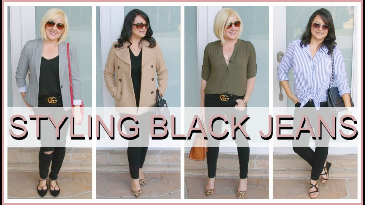 How to Style Black Jeans  Outfit Ideas & Lookbook