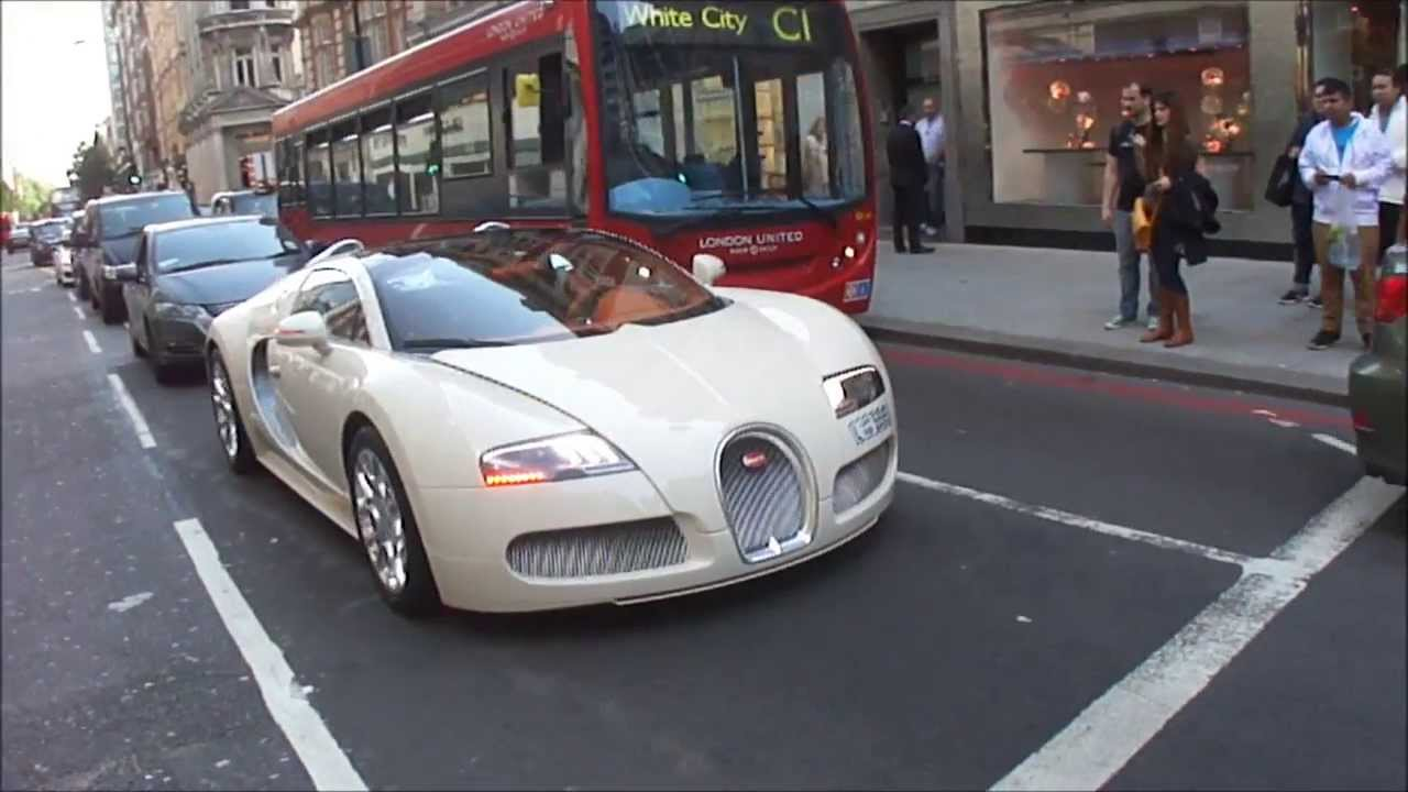 A Million Pound Car   Bugatti Veyron Grand Sport With A 16.4 Litre Engine.