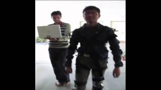 Full body human gait oscillation signals recording tool
