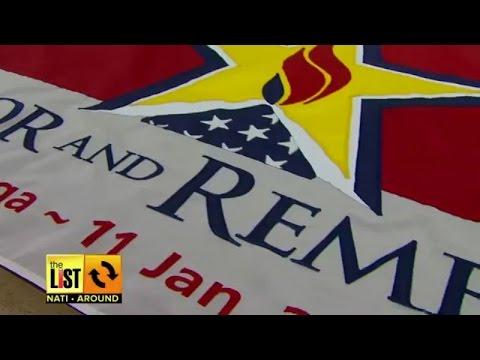 CINCINNATI: National Flag Co. Honors Soldiers