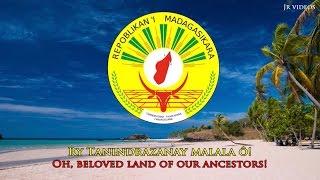 National anthem of Madagascar (MG / EN lyrics) - Lagu kebangsaan Madagaskar