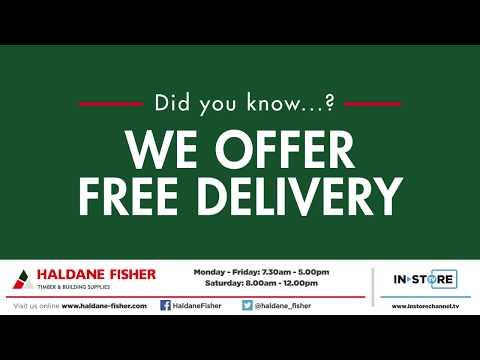 Haldane Fisher Instore TV