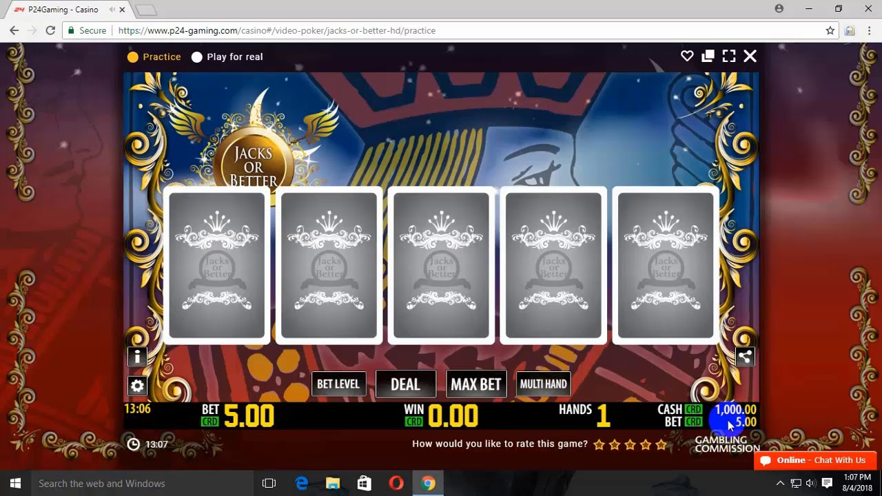 How to play and win at jacks or better video poker tutorial youtube.