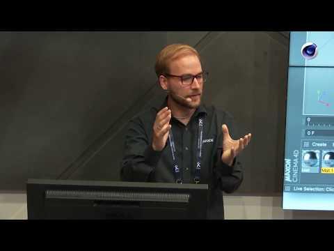 IBC 2018 Rewind: Jonas Pilz (MAXON) – Cinema 4D MoGraph: Motion Graphics Made Easy
