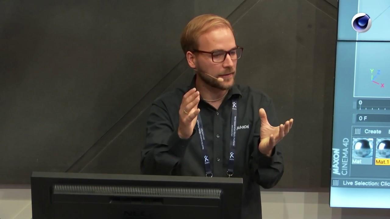 IBC 2018 Rewind: Jonas Pilz (Maxon) - Cinema 4D MoGraph: Motion Graphics  Made Easy