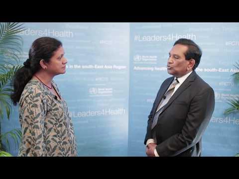 Vector control in Sri Lanka - Dr R. Senarathna, Min of Health, Nutrition & Indigenous Medicine