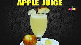 Apple Juice   Easy Healthy Recipe   How To Make Juice Recipes