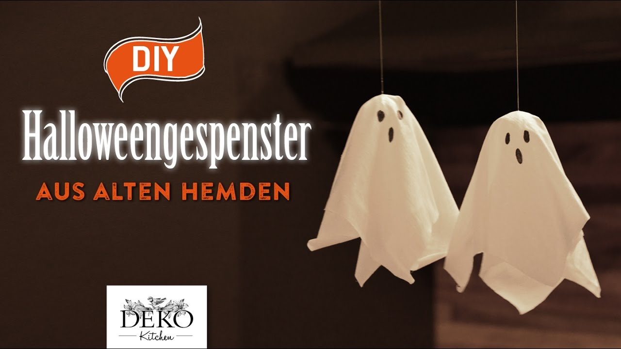 Halloween Gespenster Servietten Diy Süße Halloween Gespenster Aus Alten Hemden How To Deko Kitchen