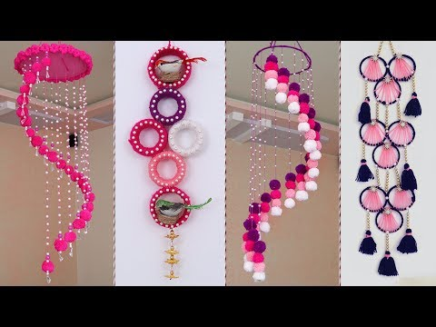 8 Beautiful Home Decor Wall hanging Ideas !!! DIY Craft