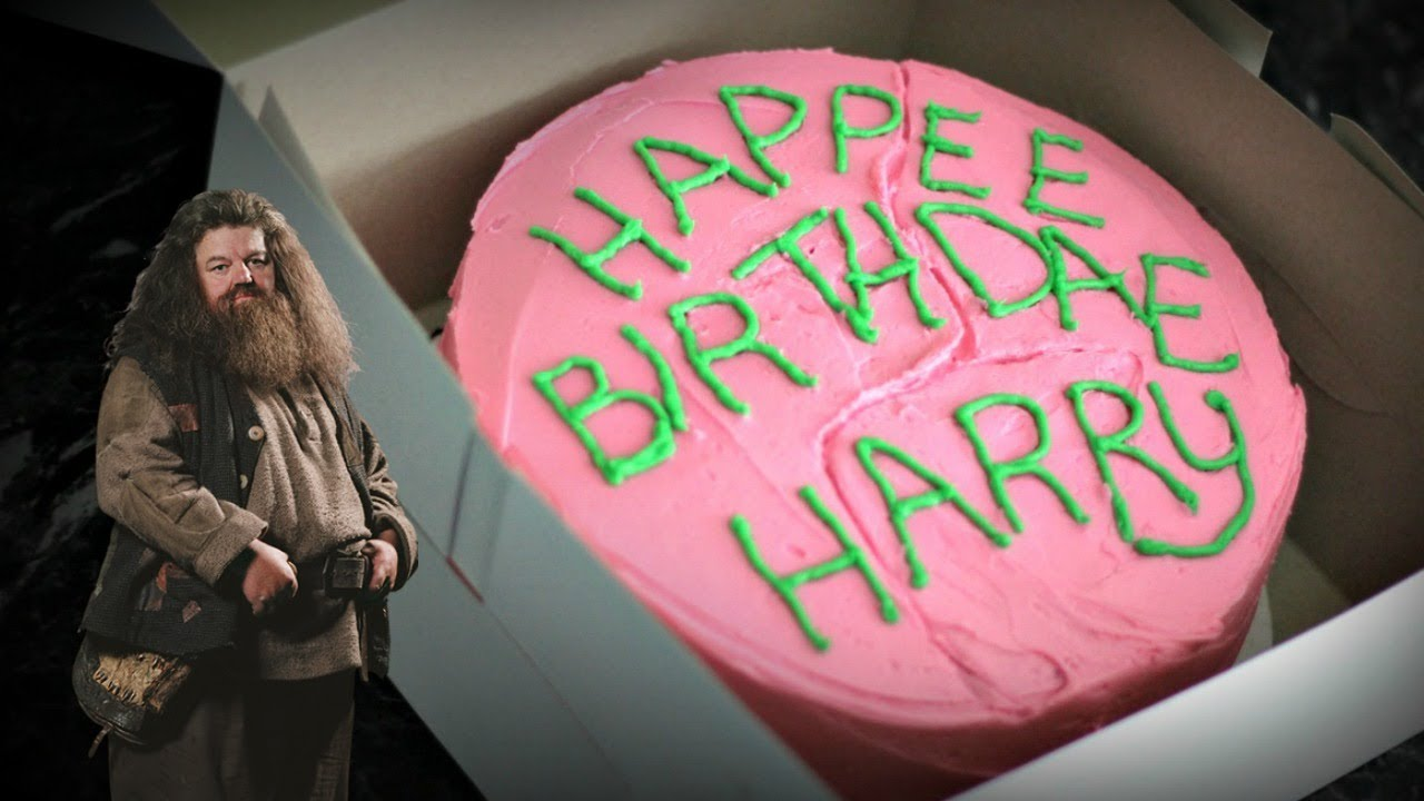 Hagrid S Cake For Harry