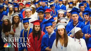 Students Give A Silent Ovation For Classmate With Autism At Graduation | NBC Nightly News