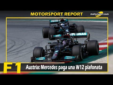 Report F1 Austria: Mercedes paga una W12 plafonata