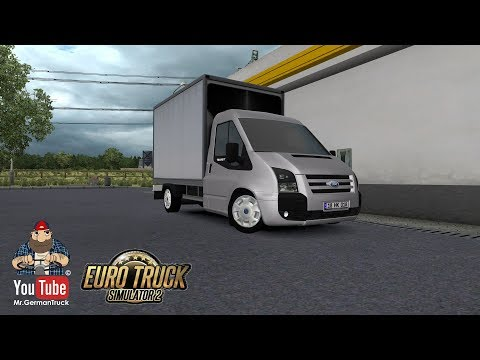 [ETS2 v1.33] Ford Transit Pickup + Cargo