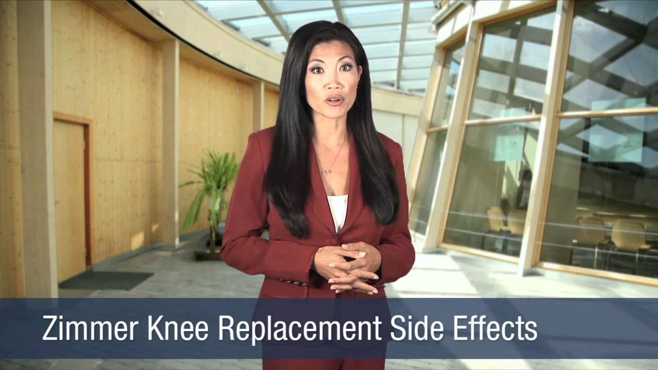 Zimmer Knee Replacement Side Effects Youtube