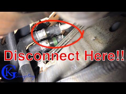 How to Replace Jaguar S Type Heater Valve