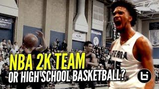NBA 2K Squad In The Form of High School Baske...