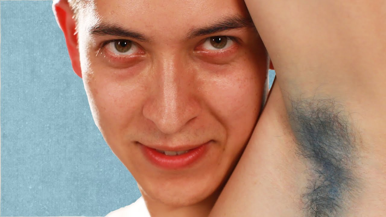 Men Dye Their Armpit Hair For The First Time Youtube