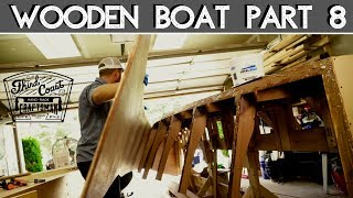 Wooden Boat Build // Part 8: Nailing Sides to Frame