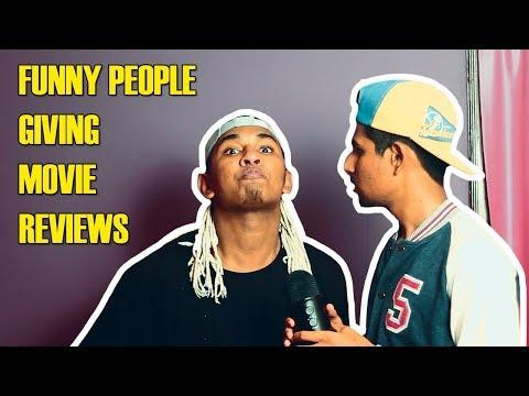 Funny People Giving Movie Reviews   Hyderabadi Comedy   Warangal Diaries