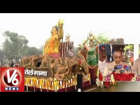 Indian states Tableau in Republic Day Celebrations at Rajpath (26-01-2015)