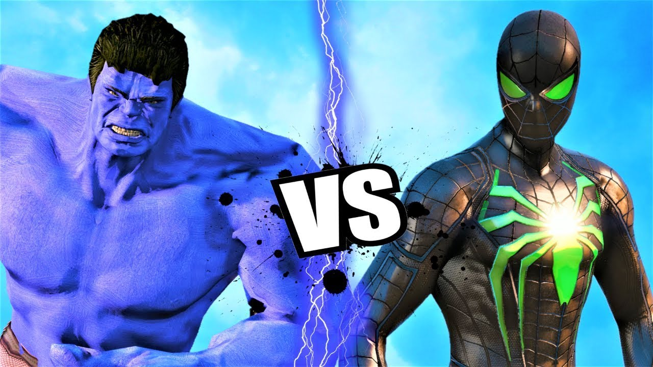HULK vs GREEN SPIDER-MAN - Epic Battle - YouTube